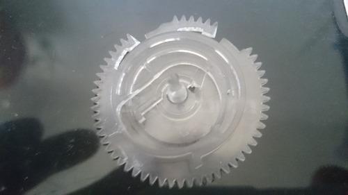 engrenagem mecanismo toca disco philips antigo
