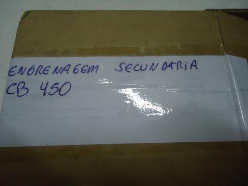 engrenagem secundaria  6 marcha cb 450 ( original honda )