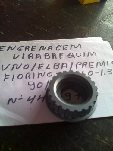 engrenagem virabrequim uno/elba/premio/fiorino 1.0/1.3