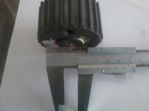 engrenagem virabrequim uno/palio/siena fire 8/16v metalleve.