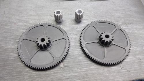 engrenagens, impressão 3d, cases e peças mecânicas