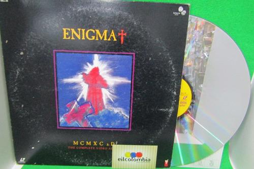 enigma mcmx a d  disco laser disc video eilcolombia