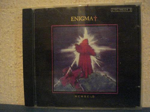 enigma  mcmxc.d   cd imp. edicion 90    sin serie