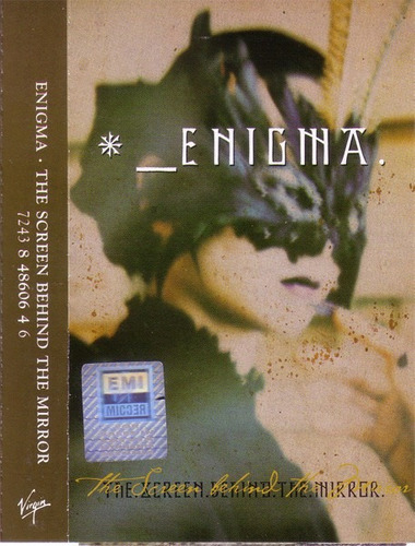 enigma the screen behind the mirror cassette edition 90's.