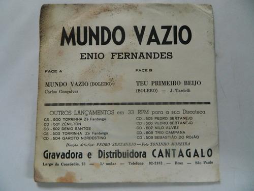 enio fernandes - mundo vazio - compacto /ep 22.02
