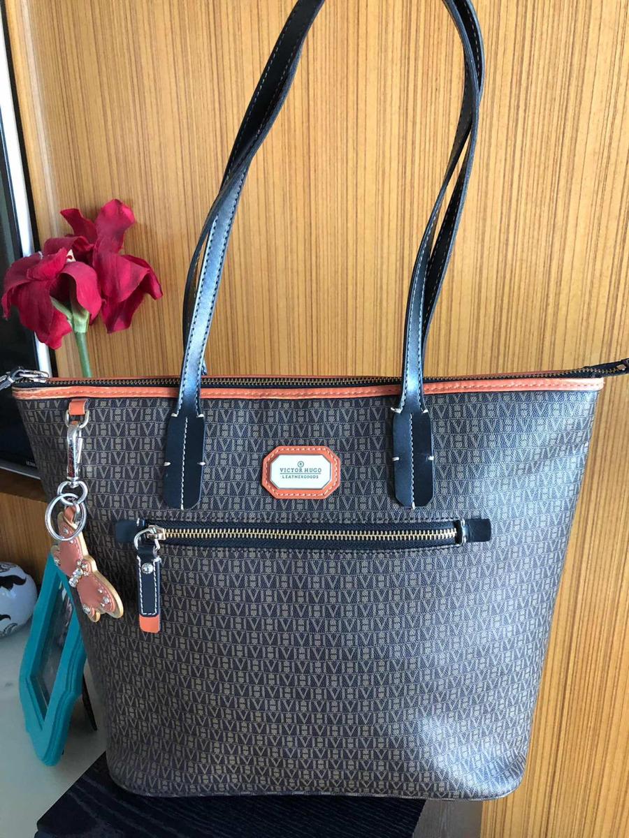 e93e35224736f enjoei) Bolsa Victor Hugo Foxy Original Couro - R  650