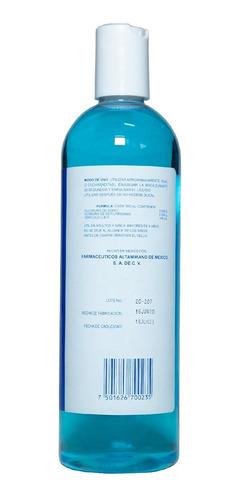 enjuague bucal antiséptico con fluoruro 500 ml isotrol