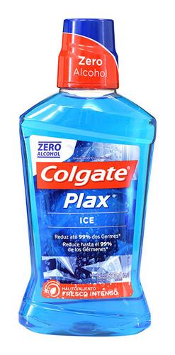 enjuague bucal colgate plax ice 500 ml