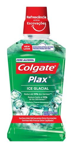enjuague bucal colgate plax ice glacial 1 lt
