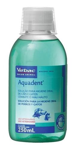 enjuague bucal para perros y gatos aquadent 250ml