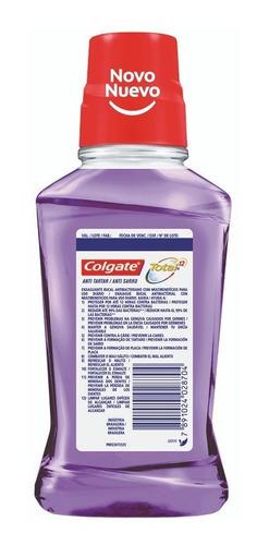 enjuague colgate  total anti sarro 250ml