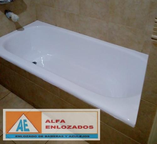 enlozado de bañeras hidromasajes y azulejos