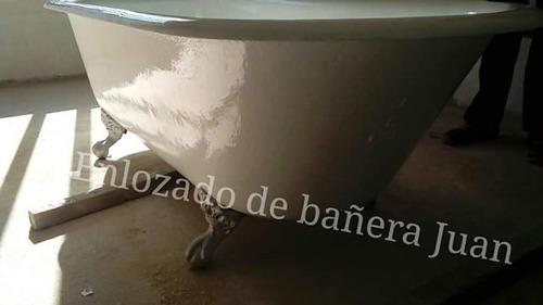 enlozado de bañeras juan