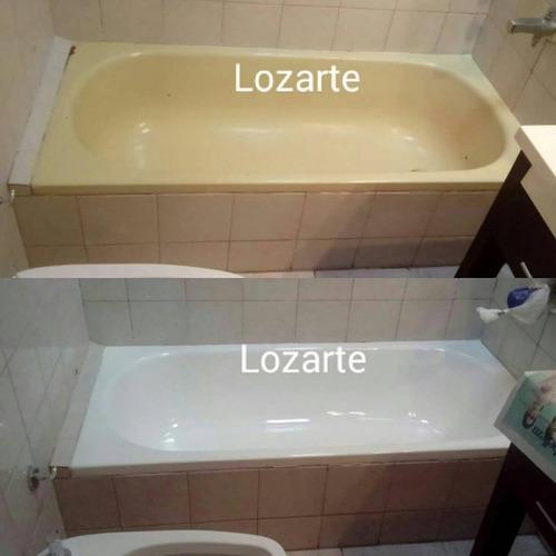 enlozado de bañeras lozarte      (27 años de experiencia)