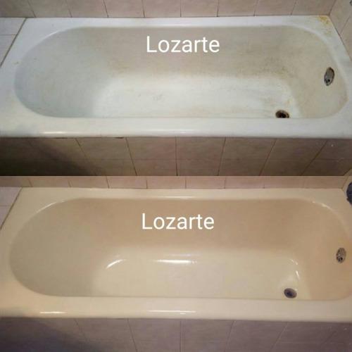 enlozado de bañeras lozarte