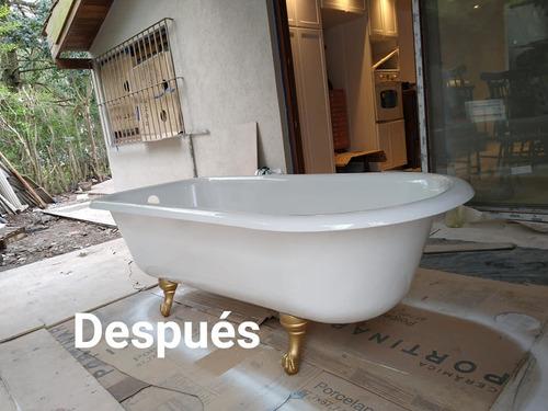 enlozado y corte de bañeras