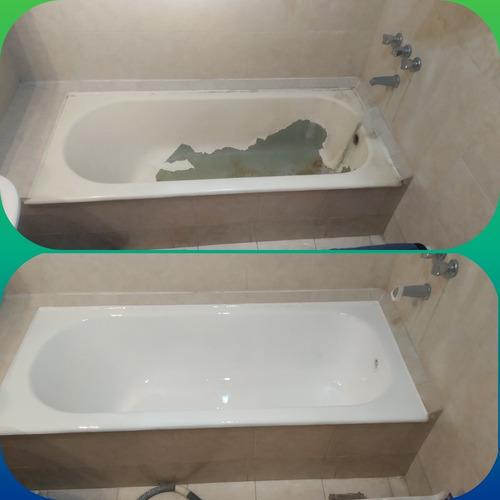 enlozados de bañeras promoción por este mes 6000 pesos...!!!
