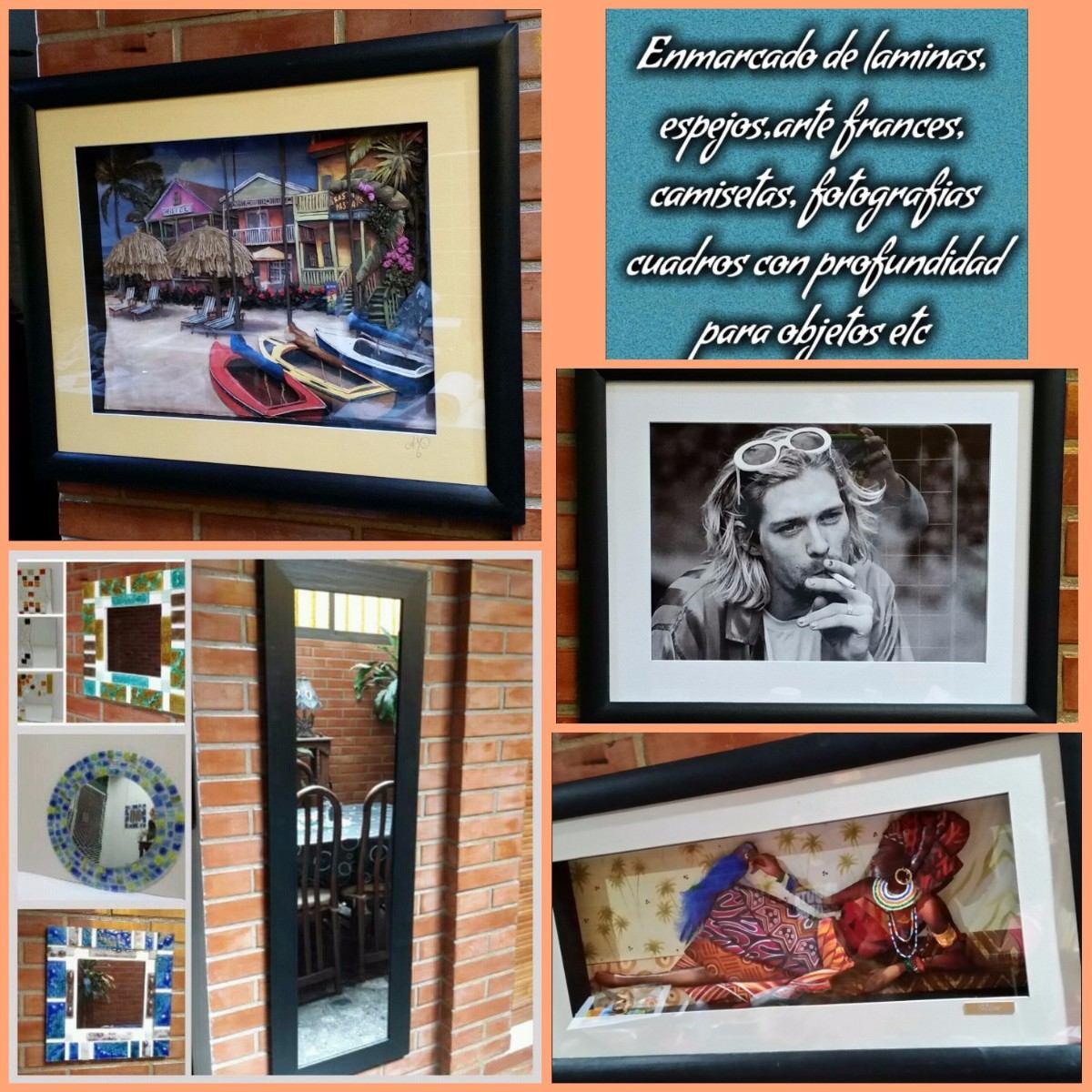 Enmarcado De Cuadros De Arte Frances, Y Marcos En General - $ 400,00 ...