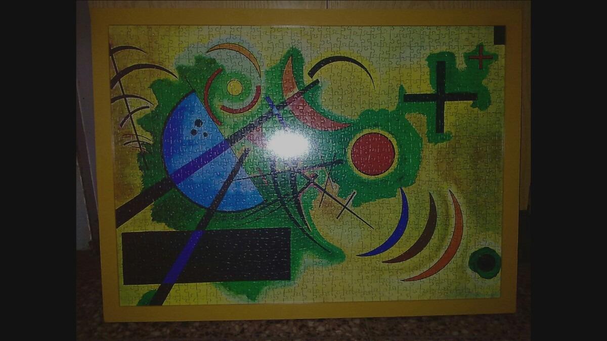 Enmarcado De Puzzles, Rompecabezas 3cm 50x70 Personalizados - $ 510 ...