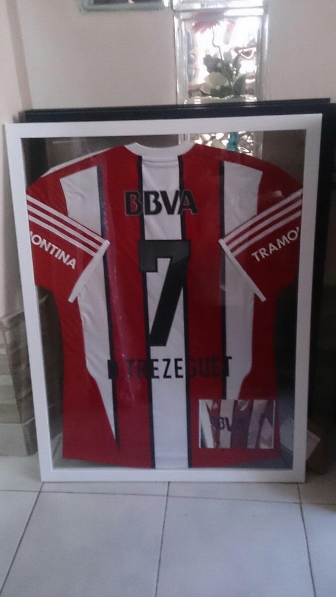 Enmarcado Doble Vidrio Camisetas 60x80 Personalizados Madera - $ 840 ...
