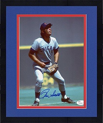 Enmarcado Ron Santo Autografiado 8 X 10 Chicago Cubs Fieldin ...