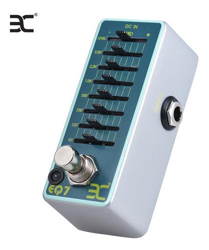 eno ex eq7 ecualizador de guitarra efecto pedal ecualizador