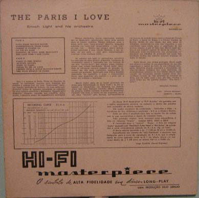 enoch light and his orchestra - the paris i love