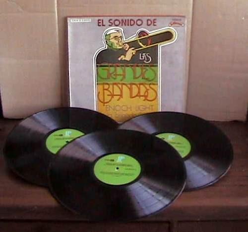 enoch light & the light brigade caja dura 3 acetatos idd