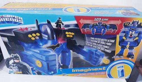 enorme robot batman imaginext megabot de niños altura 60 cm