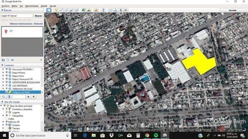 enorme terreno en el centro de cancun en av. chichen itza en la region 98