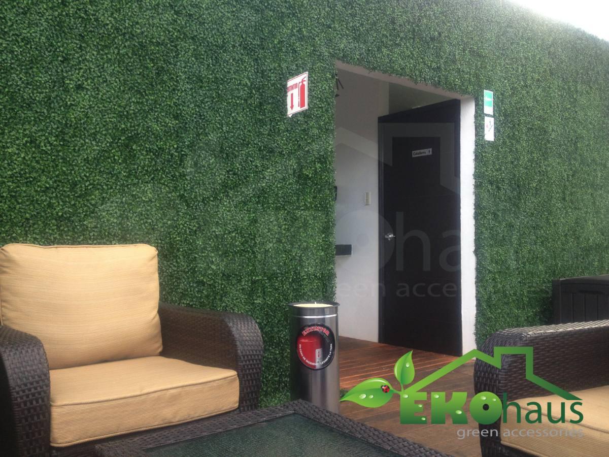 Enredadera artificial sintetica muro verde jardin for Verde vertical jardines verticales