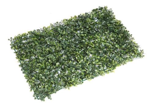enredadera pasto planta  artificial x 4 paños de 38x58cm