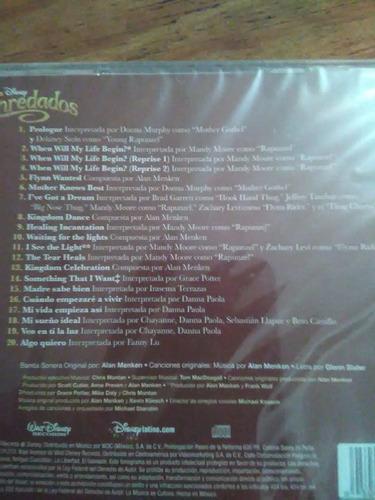 enredados (soundtrack pelicula) chayanne mandy moore