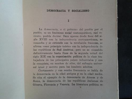 enrique dickmann democracia y socialismo