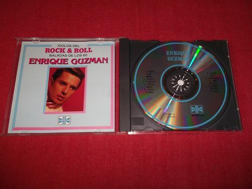 enrique guzman - idolos del rock'n roll cd nac ed 1991 mdisk