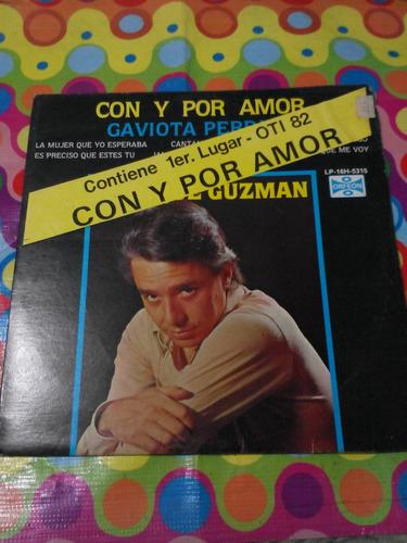 enrique guzman lp con y por amor 1982 r