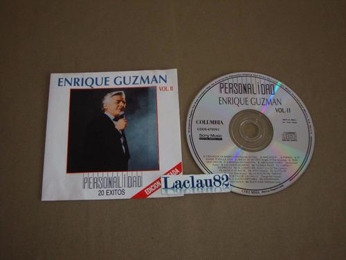 enrique guzman personalidad 20 exitos vol 2 - 94 sony cd