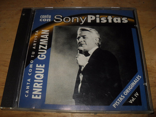 enrique guzman pistas originales sony cd vol 4