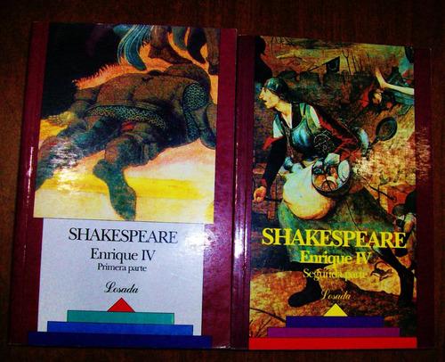 enrique iv - primera y segunda parte - shakespeare