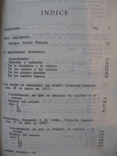 enrique jardiel poncela - obras teatrales escogidas