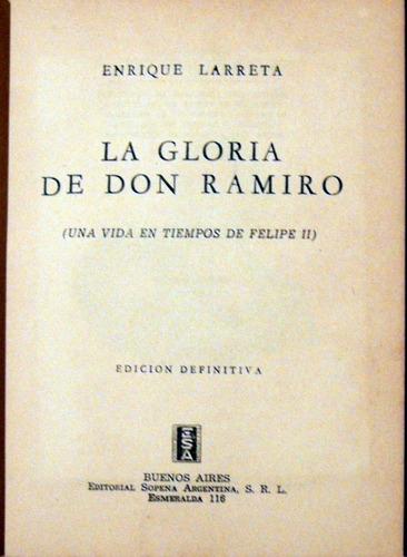 enrique larreta la gloria de don ramiro 1943 no envio