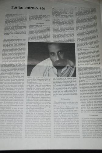 enrique lihn raul zurita barbaria revista literaria 1988