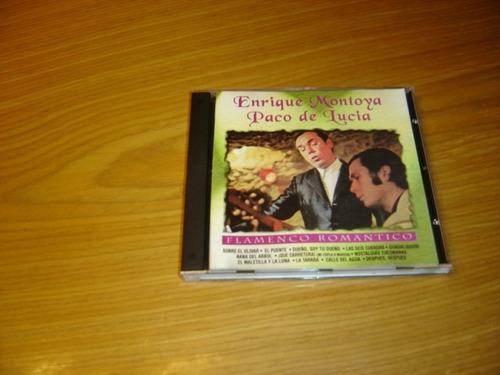 enrique montoya paco de lucia flamenco romantico cd argentin