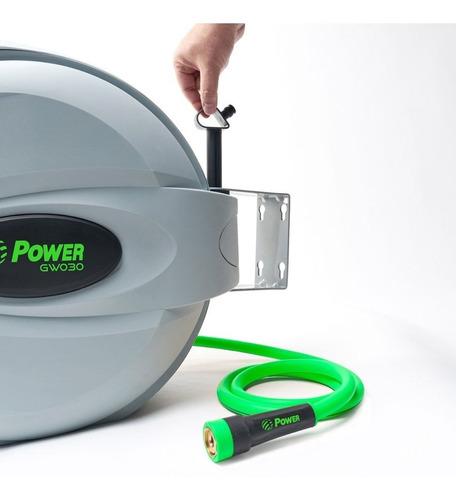 enrolador de mangueira automática de 30 metros cw030 power