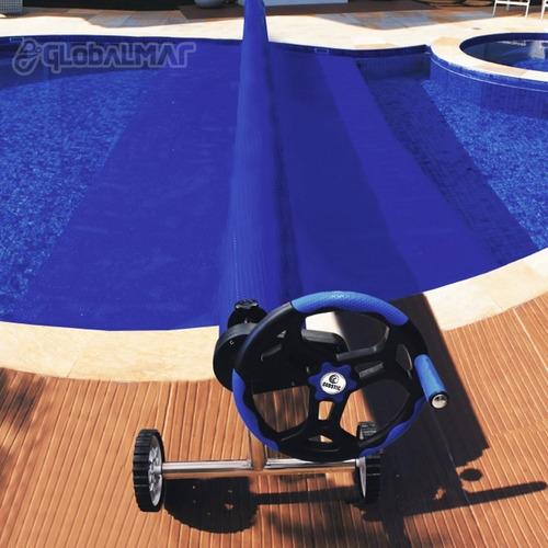 enrolador globalmar para capa térmica de piscinas grande