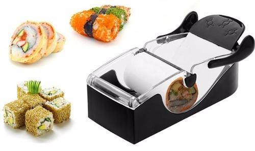 enrolar sushi máquina para