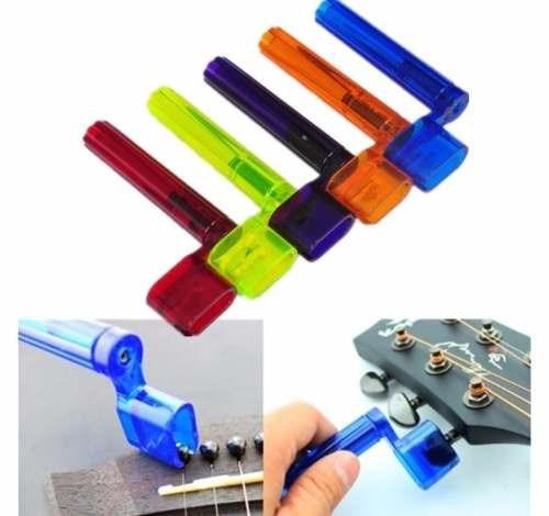 enrrollador de cuerdas para guitarra