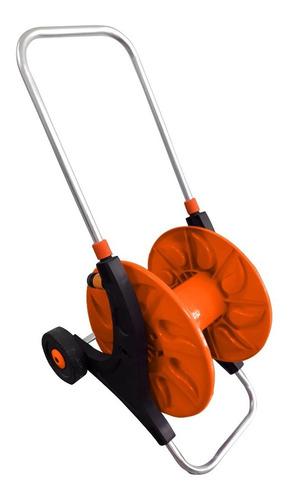 enrrollador de manguera kushiro 30 mts ruedas y barra emk1
