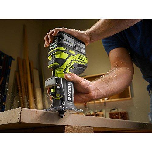 enrutador ryobi one + trim (bare-tool)