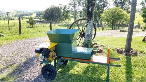ensacadora de silagem gasolina do campo